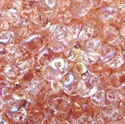 Picture of Czech SuperDuo Beads | SD-70120/28701  Transparent Rosaline AB