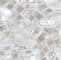 Picture of Miyuki Half Tila Beads | HTL-0160 (D) Transparent Crystal Luster (5 g.)