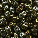 Picture of Czech SuperDuo Beads | SD-23980/21415  Brown Iris