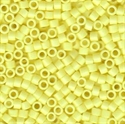 Picture of Miyuki Delica Seed Beads | 11/0 - DB-2101 (G) DURACOAT Opaque Lt. Lemon Ice (5 g.)