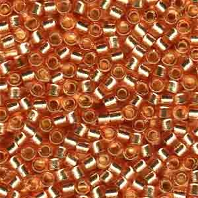 Picture of Miyuki Delica Seed Beads | 11/0 - DB-2151 (J) DURACOAT Silver-Lined Rose Copper (5 g.)