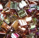 Picture of Miyuki Tila Beads | TL-55020 (P) Crystal Copper Rainbow (5 g.)