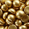 Picture of 14mm Czech Dome Beads | DM14-00030/01710  Silky Lt. Aztec Gold (10 pcs.)
