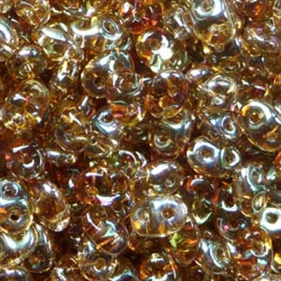 Picture of Czech MiniDuo Beads | MD-00030/22501  Transparent Crystal Celsian (5 g.)