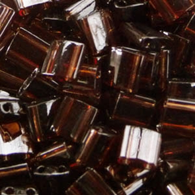 Picture of Miyuki Tila Beads | TL-0135 (A) Transparent Cocoa Plum (5 g.)