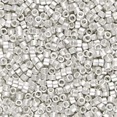 Picture of Miyuki Delica Seed Beads | 11/0 - DB-0551F (PM2) Matte Bright Sterling Silver Plated (2.5 g.)