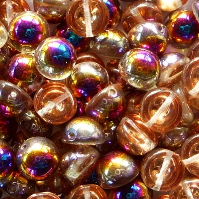 Picture of 10mm Czech Dome Beads | DM10-00030/29500  Crystal Sliperit  (10 pcs.)
