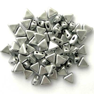 Picture of Kheops par Puca Beads | KP-00030/01700  Silky Silver Aluminum (9 g.)