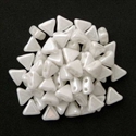Picture of Kheops par Puca Beads | KP-03000/14400  Opaque White Luster (9 g.)