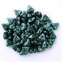 Picture of Kheops par Puca Beads | KP-23980/45707  Tweedy Green (9 g.)