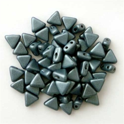 Picture of Kheops par Puca Beads | KP-23980/79031  Metallic Blue Suede (9 g.)