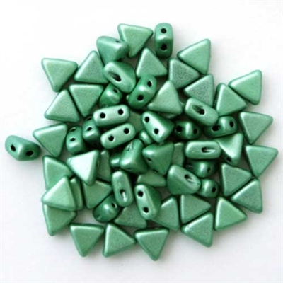 Picture of Kheops par Puca Beads | KP-23980/79051  Metallic Seafoam Suede (9 g.)