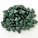 Picture of Kheops par Puca Beads | KP-23980/79052  Metallic Forest Green Suede (9 g.)