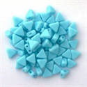Picture of Kheops par Puca Beads | KP-63030  Opaque Aqua (9 g.)