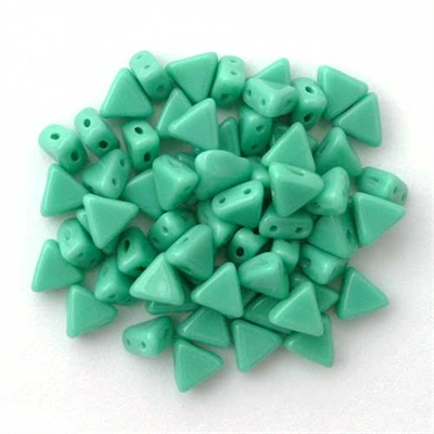 Picture of Kheops par Puca Beads | KP-63130  Opaque Green Turquoise (9 g.)
