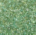 Picture of Miyuki Delica Seed Beads | 11/0 - DB-55025 (K) Crystal Blue Mist Rainbow (5 g.)