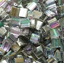 Picture of Miyuki Tila Beads | TL-55017 (P) Crystal Silver Rainbow (5 g.)