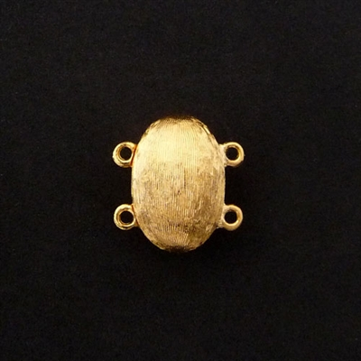 Picture of Magnetic Clasp | #CL-103-GP - 17mm x 11.5mm Gold Plated (1 pc.)