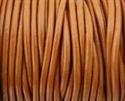 Picture of Leather Cord | #LC13 - 1.5mm Light Brown (1 ft.)