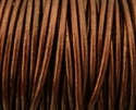 Picture of Leather Cord | #LC51 - 1.5mm Metallic Tamba (1 ft.)