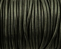 Picture of Leather Cord | #LC68 - 1.5mm Metallic Gunmetal (1 ft.)