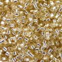 Picture of Miyuki Delica Seed Beads | 11/0 - DB-1212 (C) Transparent Silver Lined Ginger Ale (5 g.)