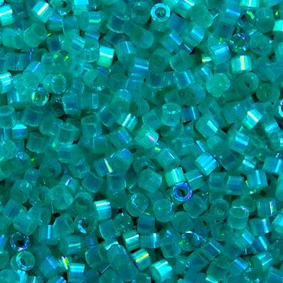 Picture of Miyuki Delica Seed Beads | 11/0 - DB-1869 (H1) Silk Green Turquoise AB* (5 g.)