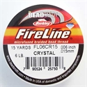 Picture of Beading Thread | FireLine - 10-Crystal Clear - 6 lb. (15 yds.)