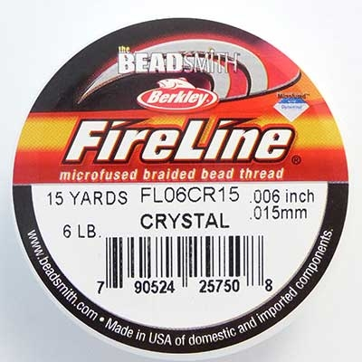 Picture of Beading Thread | FireLine - 04-Crystal Clear - 6 lb. (15 yds.)