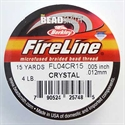 Picture of Beading Thread | FireLine - 04-Crystal Clear - 4 lb. (15 yds.)