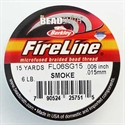 Picture of Beading Thread | FireLine - 08-Smoke Grey - 6 lb. (15 yds.)