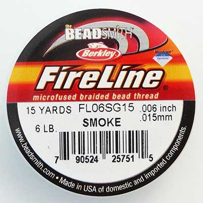 Picture of Beading Thread | FireLine - 04-Smoke Grey - 6 lb. (15 yds.)