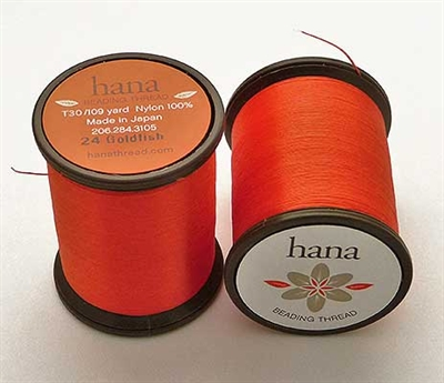 Picture of Hana Beading Thread | #HA-24 - Goldfish (109 yds)