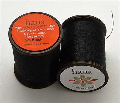 Picture of Hana Beading Thread | #HA-55 - Black (109 yds)