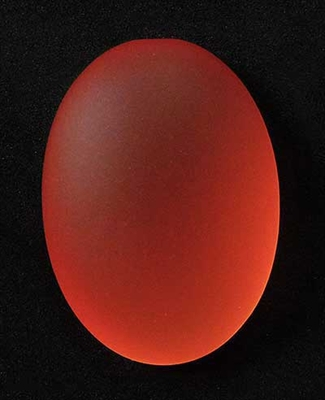 Picture of LUNASOFT Cabochon | #LS2518-08 - 25 x 18mm Oval - Salmon