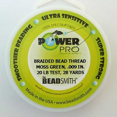 Picture of Beading Thread | Power Pro - 03-Moss - 20 lb. Test (28 yds.)