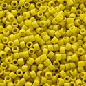 Picture of Miyuki Delica Seed Beads | 11/0 - DB-2283 (I2) Frosted Opaque Glazed Yellow Citronella (5 g.)