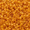Picture of Miyuki Delica Seed Beads | 11/0 - DB-2285 (I2) Frosted Opaque Glazed Marigold (5 g.)