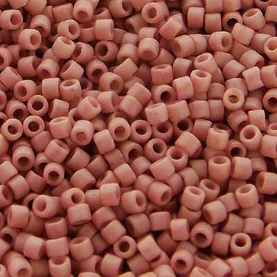 Picture of Miyuki Delica Seed Beads | 11/0 - DB-2294 (I2) Frosted Opaque Glazed Mauve (5 g.)