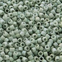 Picture of Miyuki Delica Seed Beads | 11/0 - DB-2320 (K) Frosted Opaque Glazed Lt. Grey AB (5 g.)