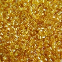 Picture of Miyuki Delica Seed Beads | 11/0 - DB-2372 (A) Fancy-Lined Butterscotch (5 g.)