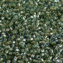 Picture of Miyuki Delica Seed Beads | 11/0 - DB-2379 (A) Fancy-Lined Blue Moss (5 g.)