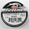 Picture of Beading Thread | FireLine - 02-Dk. Black - 4 lb. (15 yds.)